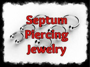 Septum Piercing Jewelry