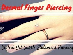 Dermal Finger Piercing