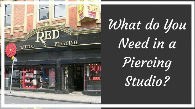 Body Piercing Studio Equipment